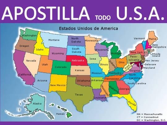 APOSTILLA TODO USA